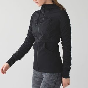 Lululemon Dance Studio Jacket Black Swift Sz 6